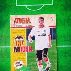 Cromos de Fútbol: CROMO FUTBOL MEGACRACKS LIGA 13 14 PANINI 2013 2014 MEGA CRACKS VALENCIA CF 322 BIS MICHEL. Lote 277855173