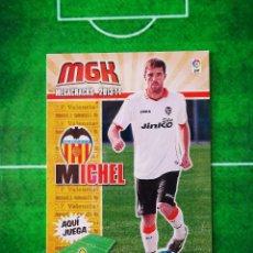 Cromos de Fútbol: CROMO FUTBOL MEGACRACKS LIGA 13 14 PANINI 2013 2014 MEGA CRACKS VALENCIA CF 322 BIS MICHEL. Lote 277855183