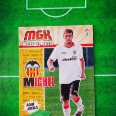 Cromos de Fútbol: CROMO FUTBOL MEGACRACKS LIGA 13 14 PANINI 2013 2014 MEGA CRACKS VALENCIA CF 322 BIS MICHEL. Lote 277855188