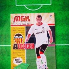 Cromos de Fútbol: CROMO FUTBOL MEGACRACKS LIGA 13 14 PANINI 2013 2014 MEGA CRACKS VALENCIA CF 323 BIS ALCACER. Lote 277855203