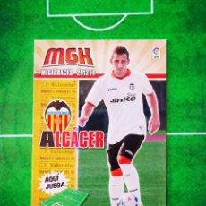 Cromos de Fútbol: CROMO FUTBOL MEGACRACKS LIGA 13 14 PANINI 2013 2014 MEGA CRACKS VALENCIA CF 323 BIS ALCACER. Lote 277855213