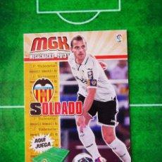 Cromos de Fútbol: CROMO FUTBOL MEGACRACKS LIGA 13 14 PANINI 2013 2014 MEGA CRACKS VALENCIA CF 323 SOLDADO. Lote 277855223