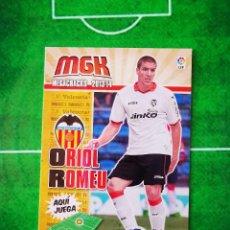 Cromos de Fútbol: CROMO FUTBOL MEGACRACKS LIGA 13 14 PANINI 2013 2014 MEGA CRACKS VALENCIA CF 475 ORIOL ROMEU FICHAJE. Lote 277855343