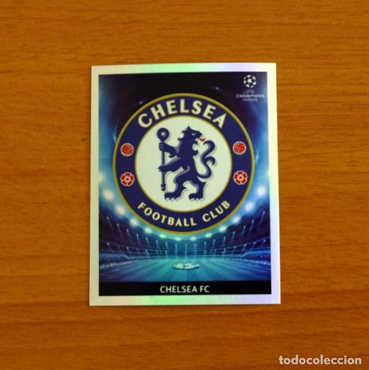 CHELSEA -Nº 209, ESCUDO -UEFA CHAMPIONS LEAGUE 2009-2010, 09-10 PANINI -NUNCA PEGADO (Coleccionismo Deportivo - Álbumes y Cromos de Deportes - Cromos de Fútbol)
