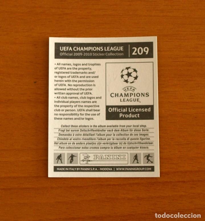 Cromos de Fútbol: Chelsea -Nº 209, Escudo -UEFA Champions League 2009-2010, 09-10 Panini -Nunca pegado - Foto 2 - 278170308