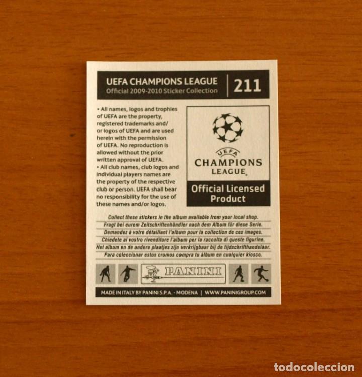 Cromos de Fútbol: Chelsea -Nº 211, José Bosingwa -UEFA Champions League 2009-2010, 09-10 Panini -Nunca pegado - Foto 2 - 278170618