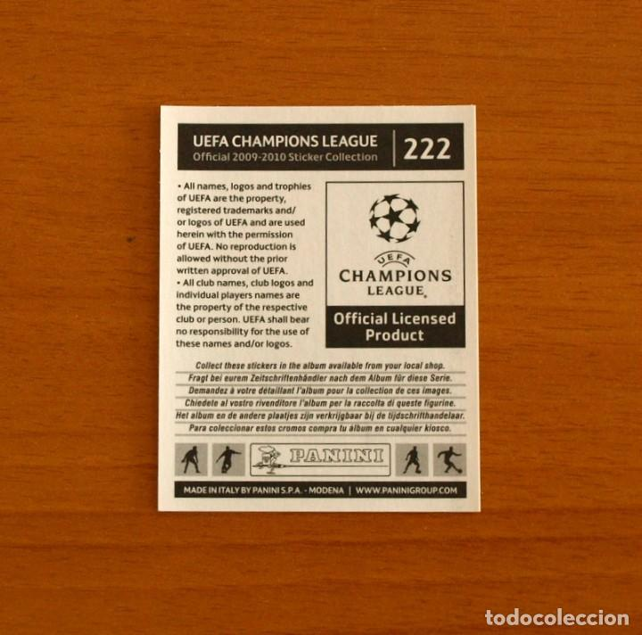 Cromos de Fútbol: Chelsea -Nº 222, Deco -UEFA Champions League 2009-2010, 09-10 Panini -Nunca pegado - Foto 2 - 278171293