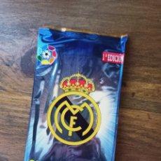 Cromos de Fútbol: CIMA DE LA LIGA (TOP OF THE LEAGUE) REAL MADRID CF SOBRE SIN ABRIR. COLECCIÓN CARDS NO OFICIAL. Lote 278209608