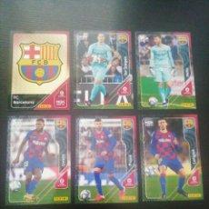 Cromos de Fútbol: LOTE X14 CARDS F. C. BARCELONA MEGACRACK 20 21. Lote 278214848