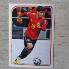 Cromos de Fútbol: CROMO STICKER COLECCIÓN EL ÁLBUM DE LA SELECCIÓN (PANINI-CARREFOUR, 2021) - Nº 71 - GERARD MORENO. Lote 278278133