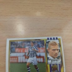 Cromos de Fútbol: CROMO 95/96 LIGA ESTE. KARPIN. REAL SOCIEDAD. NUNCA PEGADO.. Lote 278278253