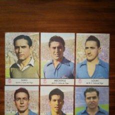 Cromos de Fútbol: R. C. CELTA DE VIGO - CASTELLBLANCH 1952/53 52/53 - 11 CROMOS COMPLETO MUY BUEN ESTADO. Lote 278452338