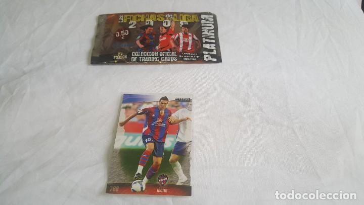 LOTE MUNDICROMO 2008 2009 788 IBORRA PLATINUM (Coleccionismo Deportivo - Álbumes y Cromos de Deportes - Cromos de Fútbol)