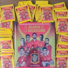 Cromos de Futebol: ALBÚM EDICIÓN DE LUJO + 60 SOBRES CROMOS EL ÁLBUM DE LA SELECCIÓN. Lote 268399584