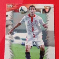 Cromos de Fútbol: 222 FERNANDO NAVARRO. SEVILLA F.C. LAS FICHAS QUIZ LIGA 2014. MUNDICROMO. Lote 278834578