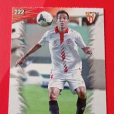 Cromos de Fútbol: 222 FERNANDO NAVARRO. SEVILLA F.C. LAS FICHAS QUIZ LIGA 2014. MUNDICROMO. Lote 278834588