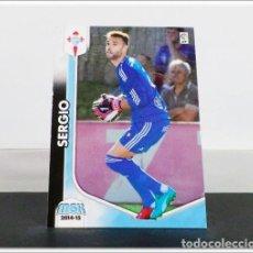 Cromos de Fútbol: MEGACRACKS 2014 2015 14 15 PANINI SERGIO Nº 74 BIS CELTA VIGO ALBUM LIGA CARD MEGA CRACKS MGK. Lote 278923838