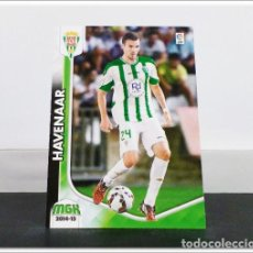 Cromos de Fútbol: MEGACRACKS 2014 2015 14 15 PANINI HAVENAAR Nº 474 FICHAJE CÓRDOBA ALBUM LIGA CARD MEGA CRACKS MGK. Lote 278924118