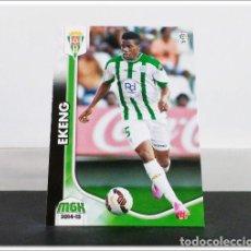 Cromos de Fútbol: MEGACRACKS 2014 2015 14 15 PANINI EKENG Nº 101 BIS CÓRDOBA ALBUM LIGA CARD MEGA CRACKS MGK. Lote 278924323