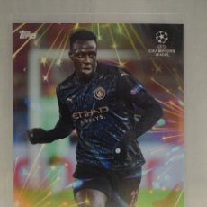 Cromos de Fútbol: MENDY MANCHESTER CITY FLARE BY STEVE AOKI TOPPS UCL 2020 2021 CHAMPIONS LEAGUE FOOTBALL FESTIVAL. Lote 279339258