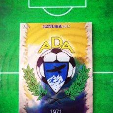 Cromos de Fútbol: CROMO FUTBOL 13 14 MUNDICROMO FICHAS QUIZ LIGA 2013 2014 AD ALCORCON 784 ESCUDO. Lote 279553448