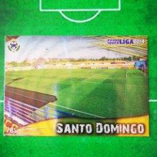 Cromos de Fútbol: CROMO FUTBOL 13 14 MUNDICROMO FICHAS QUIZ LIGA 2013 2014 AD ALCORCON 785 ESTADIO SANTO DOMINGO. Lote 279553738