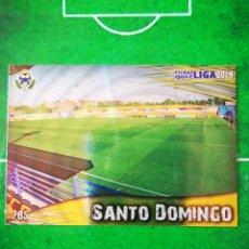 Cromos de Fútbol: CROMO FUTBOL 13 14 MUNDICROMO FICHAS QUIZ LIGA 2013 2014 AD ALCORCON 785 ESTADIO SANTO DOMINGO. Lote 279553748