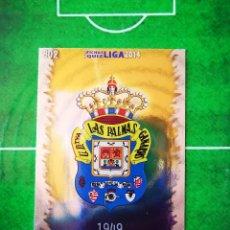 Cromos de Fútbol: CROMO FUTBOL 13 14 MUNDICROMO FICHAS QUIZ LIGA 2013 2014 UD LAS PALMAS 802 ESCUDO. Lote 279555038