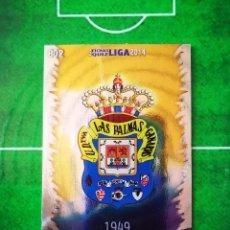 Cromos de Fútbol: CROMO FUTBOL 13 14 MUNDICROMO FICHAS QUIZ LIGA 2013 2014 UD LAS PALMAS 802 ESCUDO. Lote 279555048