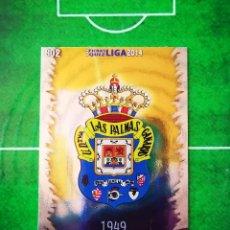 Cromos de Fútbol: CROMO FUTBOL 13 14 MUNDICROMO FICHAS QUIZ LIGA 2013 2014 UD LAS PALMAS 802 ESCUDO. Lote 279555068