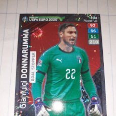 Cromos de Fútbol: ADRENALYN XL UEFA EURO 2020 (ROAD TO), PANINI, GIANLUIGI DONNARUMMA (GOAL STOPPER), Nº 304 POWER-UP. Lote 279555453