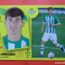 Cromos de Futebol: ESTE 2021 2022 - 11A MIRANDA - REAL BETIS - 21 22 - PANINI - 11 A. Lote 280963363