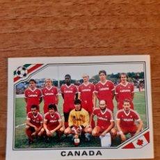 Cromos de Fútbol: N°219 ALINEACIÓN CANADÁ MUNDIAL MÉXICO 86. NUNCA PEGADO. Lote 283088808