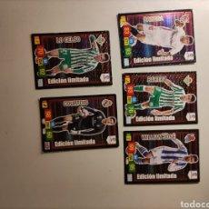 Cromos de Futebol: LOTE X5 CARDS ADRENALYN EDICIÓN LIMITADA 2018/19 18 19. Lote 283346278