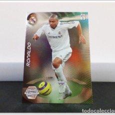 Cromos de Fútbol: MEGACRACKS 2006 2007 06 07 PANINI RONALDO NAZARIO 383 MEGA ESTRELLAS REAL MADRID LIGA ALBUM MGK. Lote 297040233