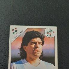 Cromos de Fútbol: MARADONA Nº 128, ARGENTINA . MUNDIAL ITALIA 90 ORIGINAL NUNCA PEGADO.. Lote 283681848