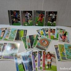 Cromos de Fútbol: CROMOS LAS FICHAS DE LA LIGA MUNDI CROMO 2001 LOTE 34 ALGUNO BUENOS. Lote 283683983