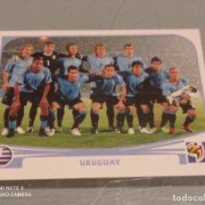 Cromos de Fútbol: 68 PLANTILLA SELECCION DE URUGUAY MUNDIAL SOUTH AFRICA 2010 . PANINI NUEVO. Lote 284608888