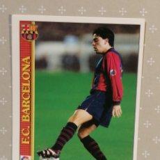 Cromos de Fútbol: XAVI FICHAS DE LA LIGA 2000 MUNDICROMO. Lote 284699383