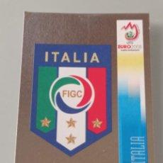 Cromos de Fútbol: 285 ESCUDO BRILLANTE ITALIA. EURO 2008 AUSTRIA SUIZA. NUEVO. PANINI. Lote 285161713