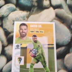 Cartes à collectionner de Football: 3 DAVID GIL CADIZ LIGA ESTE 2020 2021 20 21. Lote 286245468