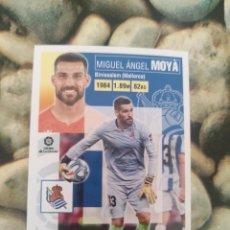 Cartes à collectionner de Football: 3 MOYA REAL SOCIEDAD LIGA ESTE 2020 2021 20 21. Lote 286253253