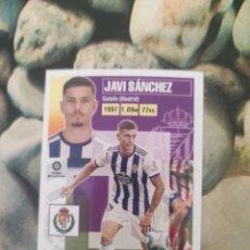 Cartes à collectionner de Football: 6 JAVI SANCHEZ VALLADOLID LIGA ESTE 2020 2021 20 21. Lote 286255503