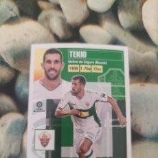 Cartes à collectionner de Football: 5 TEKIO ELCHE LIGA ESTE 2020 2021 20 21. Lote 286256873