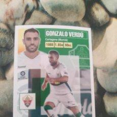 Cartes à collectionner de Football: 6 GONZALO VERDU ELCHE LIGA ESTE 2020 2021 20 21. Lote 286257023