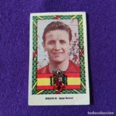 Cromos de Fútbol: CROMO DE FUTBOL EQUIPO NACIONAL. GONZALVO III. 1953-54. SIN SER PEGADO.. Lote 286674593