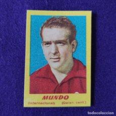 Cromos de Fútbol: CROMO DE FUTBOL NUESTROS INTERNACIONALES CAMPEONES. 1951. MUNDO. ALCOYANO.. Lote 286677218