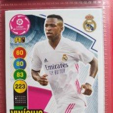 Cromos de Futebol: 252 VINICIUS REAL MADRID ADRENALYN XL 2020 2021 20 21 PANINI CROMO CARD2. Lote 286783008