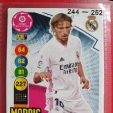 Cromos de Futebol: 246 MODRIC REAL MADRID ADRENALYN XL 2020 2021 20 21 PANINI CROMO CARD2. Lote 286783693