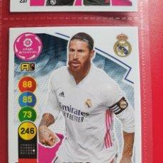 Cromos de Futebol: 240 SERGIO RAMOS REAL MADRID ADRENALYN XL 2020 2021 20 21 PANINI CROMO CARD2. Lote 286784213